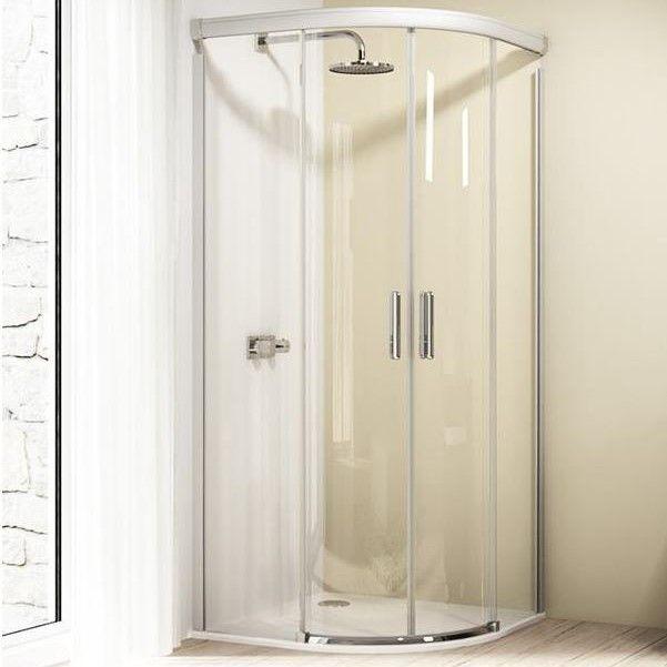 Huppe Design elegance 1/4 круга Двустворчатая раздвижная дверь 8E30 ФОТО