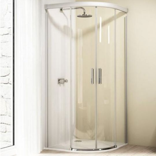 Huppe Design elegance 1/4 круга Двустворчатая раздвижная дверь 8E30