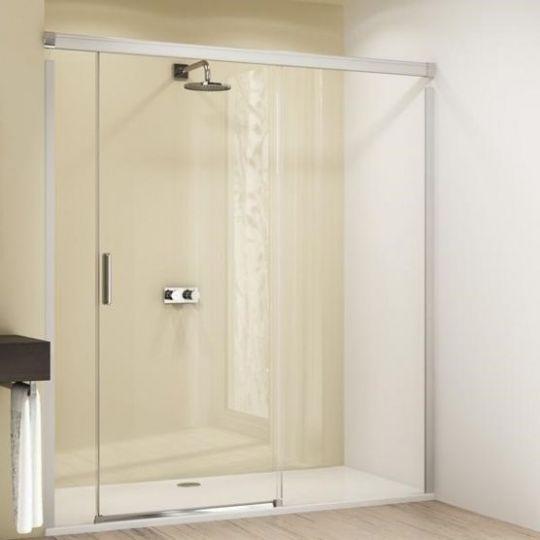 Huppe Design elegance Раздвижная дверь с неподвижным сегментом и доп. элементом крепление справа 8E04