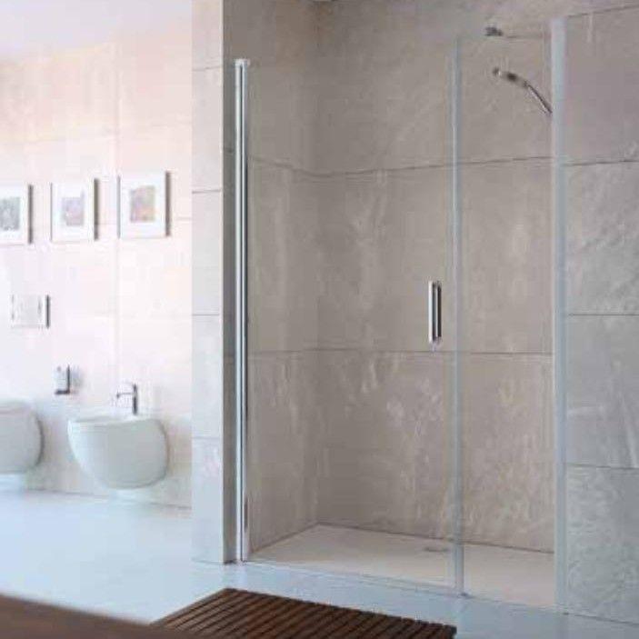 Huppe Design elegance Распашная душевая дверь с дополнительным элементом для ниши 8E72 ФОТО