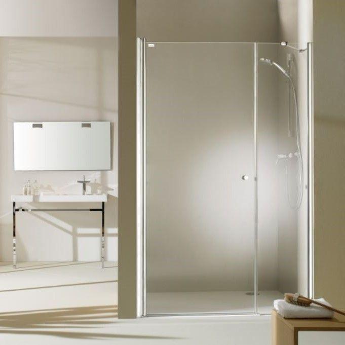 Huppe Design pure Распашная душевая дверь с дополнительным элементом для ниши 8P72 ФОТО