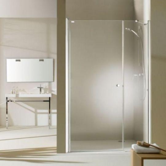 Huppe Design pure Распашная дверь с дополнительным элементом для ниши 8P72