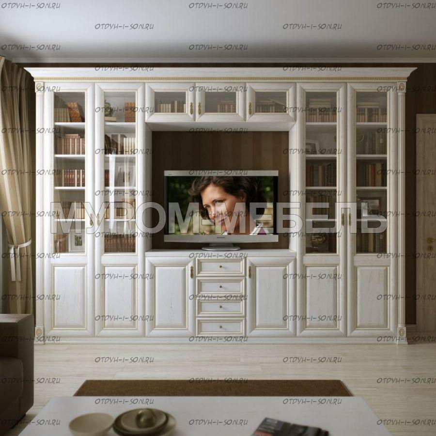 Шкаф с нишей под ТВ (стенка) Пальма (315х35х240)
