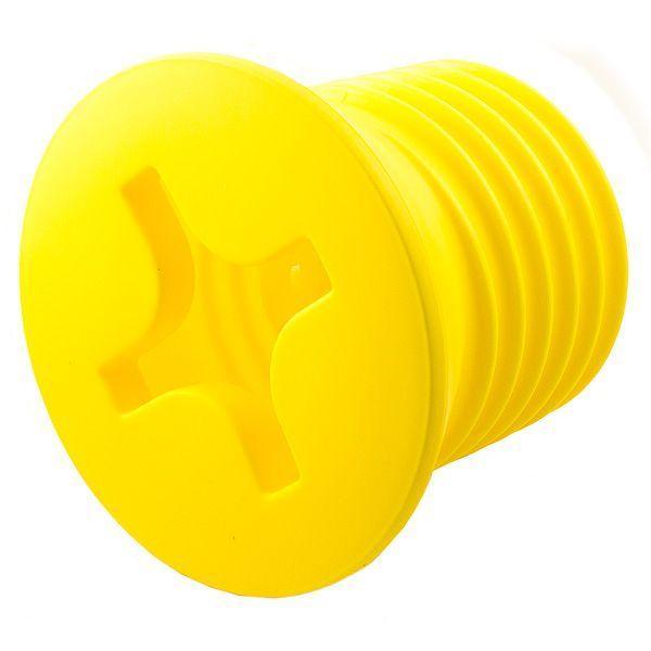 Светильник Винт желтый