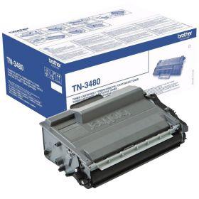 Картридж лазерный Brother TN-3480 черный повышенной емкости оригинальный
