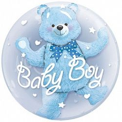 Шар гелиевый BABY BOY