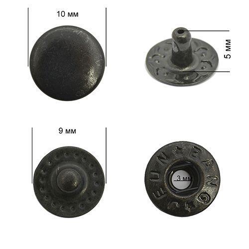 Кнопка VT-2 цвет.оксид 10мм сталь NewStar