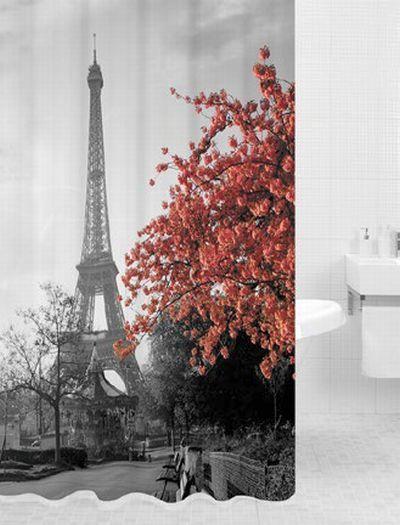 Занавеска в душ Париж 180х180cm