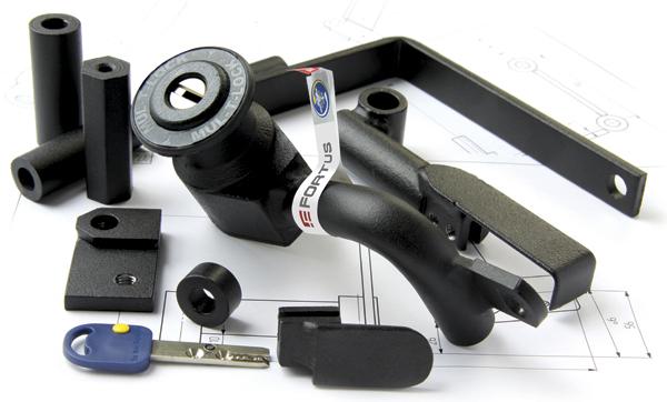 FORTUS  (Mul-T-Lock Interactive®) Механические противоугонные устройства на ВСЕ АВТОМОБИЛИ.