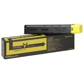 Тонер-картридж Kyocera TK-8705Y желтый оригинальный