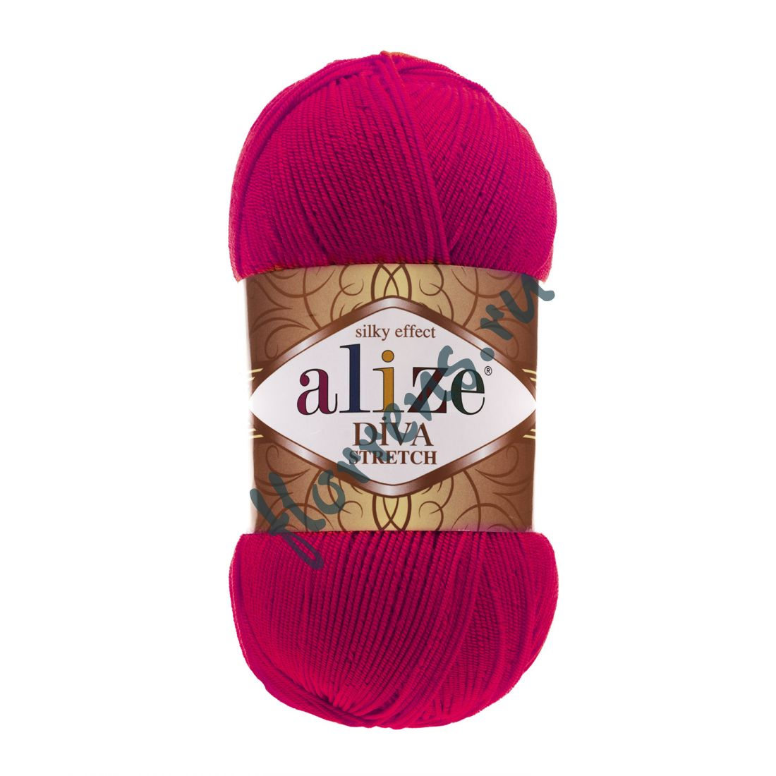 Пряжа Alize Diva Stretch / 396 мак