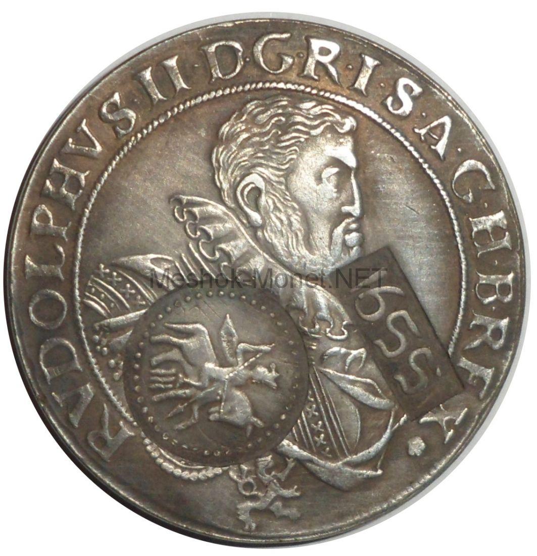 Копия монеты ефимок с признаком 1655 год надчекан на талере 1609 года