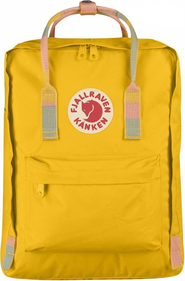 Рюкзак Fjallraven Kanken classic 141-905 - Warm Yellow-Random Blocked