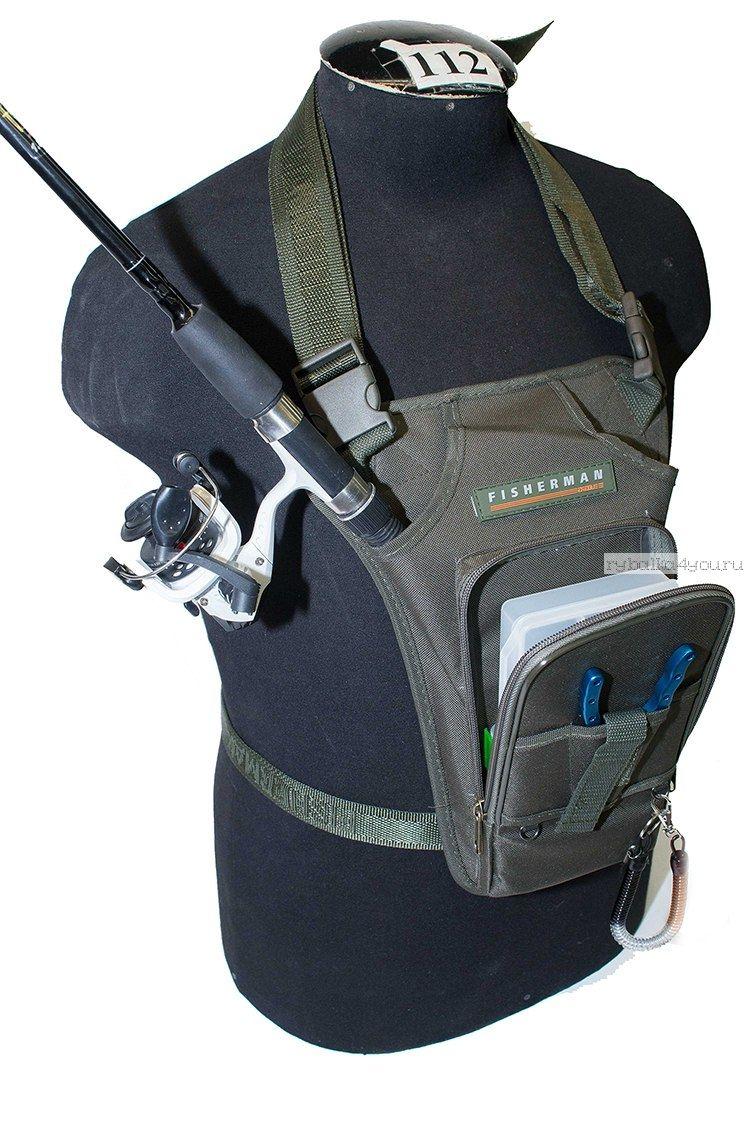 Купить Поясная и нагрудная сумка Fisherman/ Артикул: Ф38