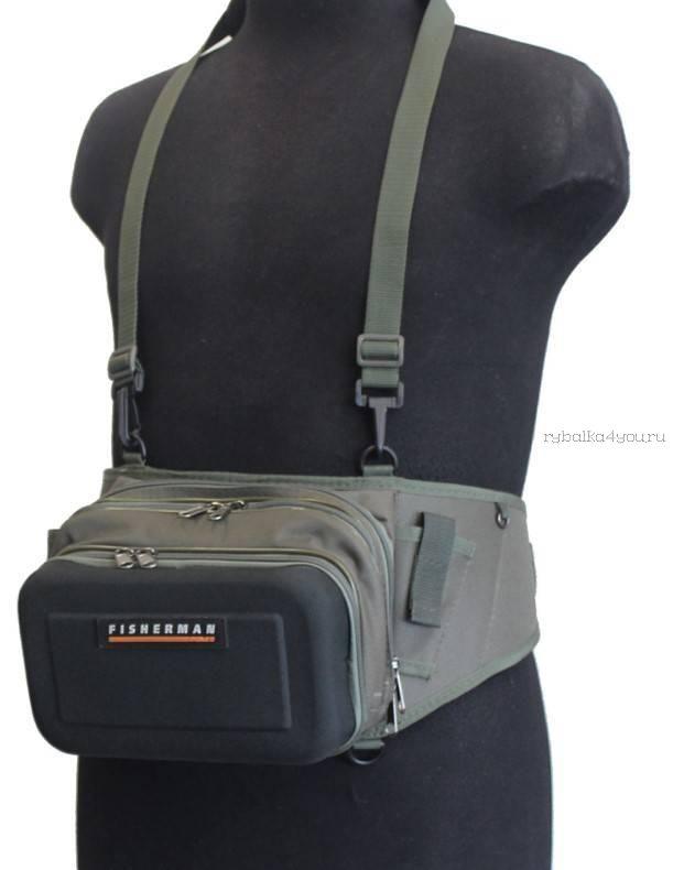 Купить Поясная и нагрудная сумка Fisherman/ Артикул: Ф58