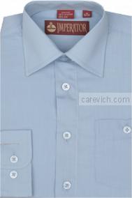 """Рубашки для мальчиков оптом """"Император"""" (6-14 лет.). 10 шт. Артикул: Bell Blue"""