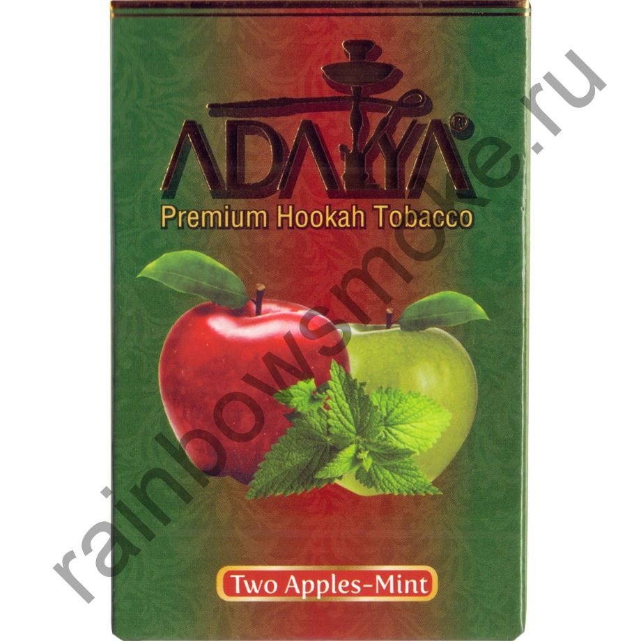 Adalya 50 гр - Two Apple Mint (Два Яблока с Мятой)