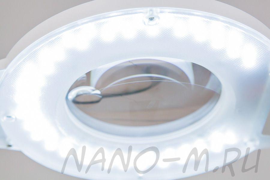 Диодная лампа-лупа, настольная, серия SD H6001T