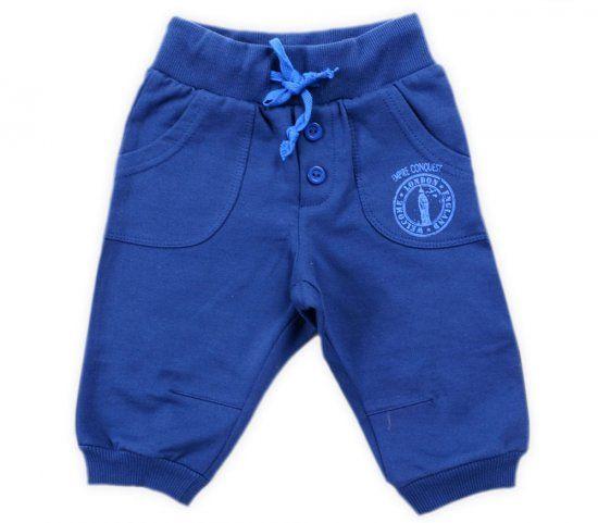 Бриджи синие для мальчика Крокид