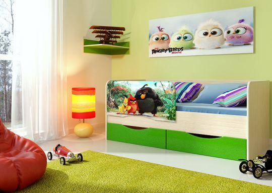 """Детская кровать """"Энгри"""" 2,0м."""