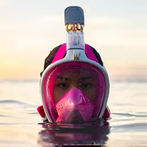 Подводная маска с креплением для экшн камеры Freebreath