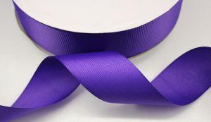 `Лента репсовая однотонная 15 мм, цвет: фиолетовый