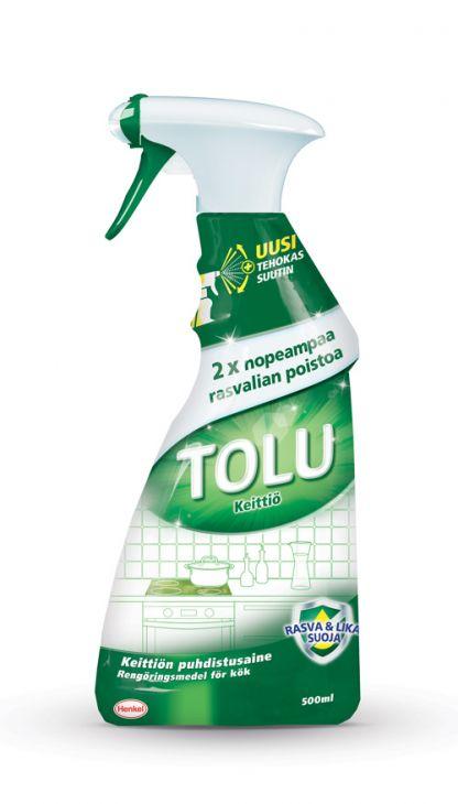 TOLU Keittiö 0,5 л спрей для уборки на кухне
