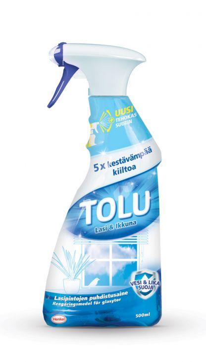 TOLU Lasi-Ikkunaspray 0,5 l спрей для стекол и зеркал