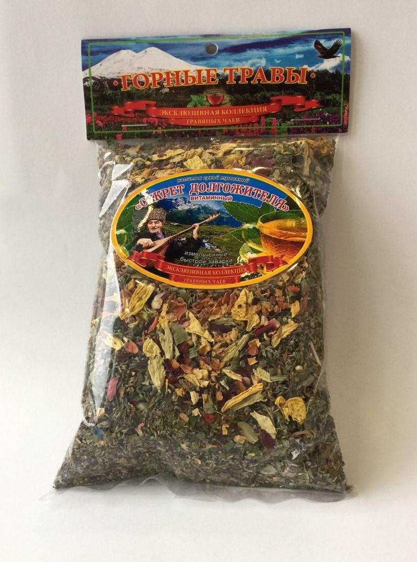 Травяной чай Секрет долгожителя - 100 гр