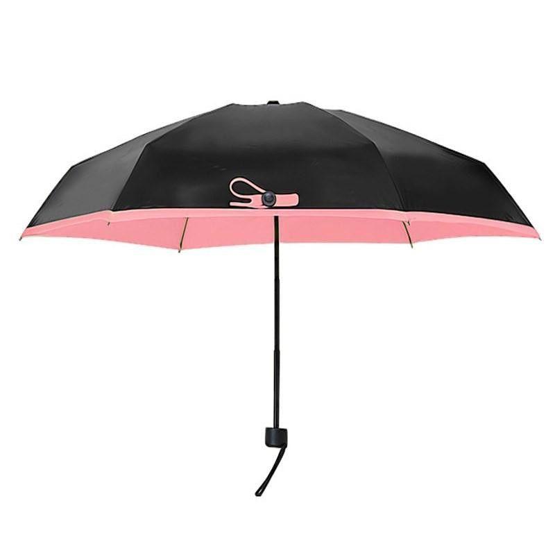 Карманный зонтик Mini Pocket Umbrella (Черный)