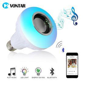 Лампочка-колонка со светомузыкой Vontar