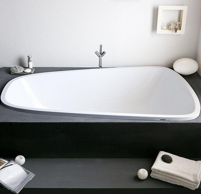 Ванна встраиваемая Hoesch SINGLEBATH DUO арт: 3688 176x114 слив слева ФОТО