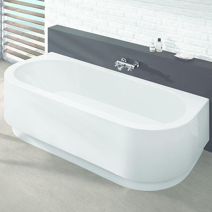 Акриловая ванна Hoesch HAPPY D. арт: 6180 / 6181 180x80 ФОТО