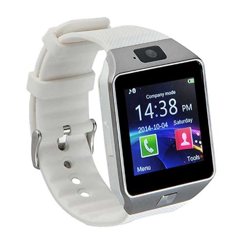 Умные часы Tiroki Smart Watch DZ09 (серебряный)