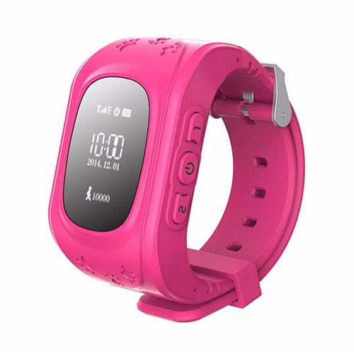 Умные детские часы с GPS Smart Baby Watch Q50 (розовый)