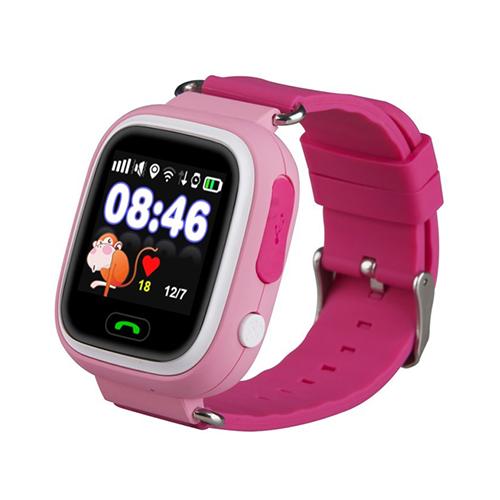 Умные детские часы с GPS Smart Baby Watch Q80 (розовый)