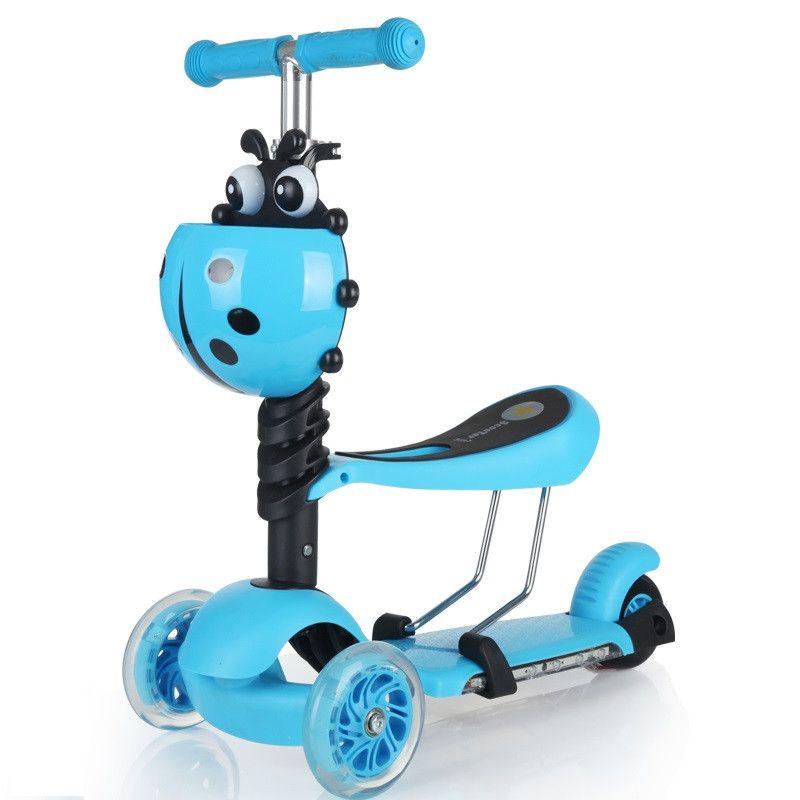 "Детский самокат Scooter 3 in 1 ""Божья коровка"""