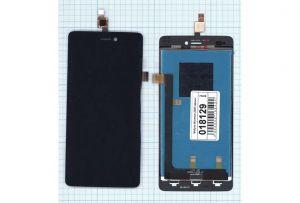 LCD (Дисплей) Micromax A290 (в сборе с тачскрином) (black) Оригинал