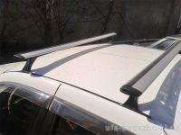 Багажник на крышу на Renault Sandero, Delta, аэродинамические (крыловидные) дуги
