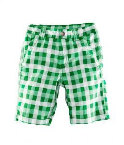 Бриджи шорты для мальчика в клетку H&M