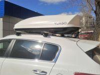 Багажник на крышу Kia Sportage IV, Атлант, крыловидные аэродуги