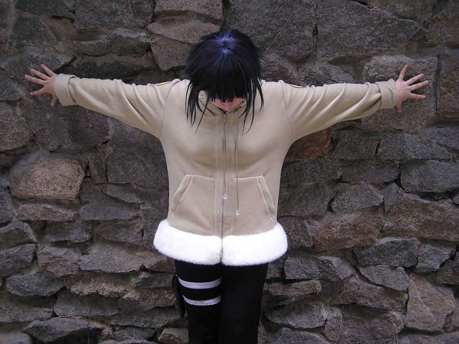 Косплей костюм Хинаты Хьюга