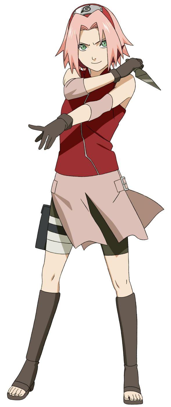Косплей костюм Харуно Сакуры