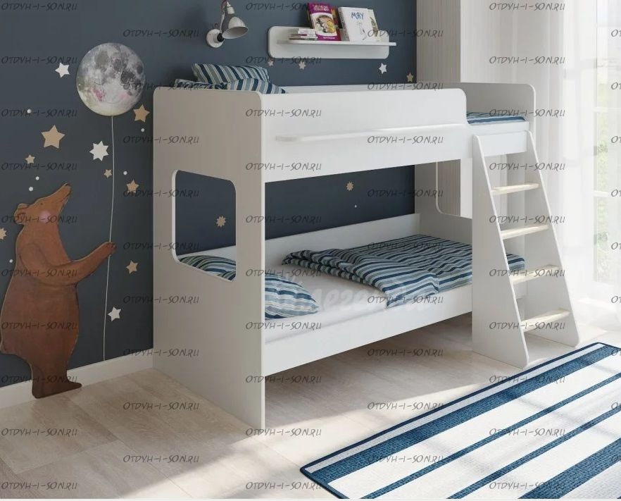 Кровать двухъярусная Легенда-25.1