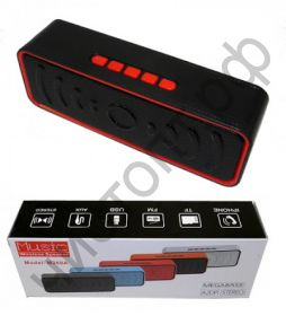 Колонка универс.с радио M268B (3W,TF, USB, FM,bluetooth, аккум.) неплохие басы