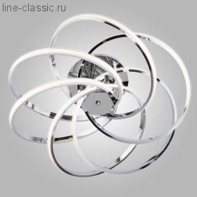Светодиодный потолочный светильник Артикул: 90044/6 хром