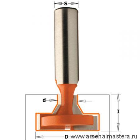 CMT 950.601.11 Фреза (Т-образный паз) S12 D9,5/30x17,5x60,3