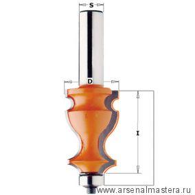 CMT 955.902.11 Фреза мультипрофильная (Карниз) (нижн. подш.) S12 D27x41
