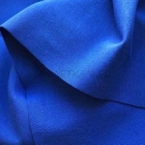 Трикотаж однотонный Синий