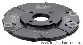 CMT 694.001.30 Фреза пазовая регулир. F30 D140x4-15 насадная (сталь) смен.ножи HM (кейс)